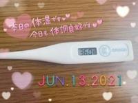 今日の体温(❁´ᗜ`❁) | みか